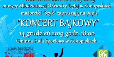 Koncert Bajkowy w Konopiskach