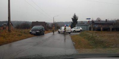 Wypadek w Aleksandrii. Dwie osoby zabrane do szpitala!