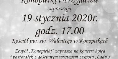 Koncert Noworoczny Kolęd i Pastorałek w Konopiskach