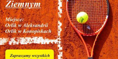 Zapraszamy na Mistrzostwa Gminy Konopiska w tenisie ziemnym