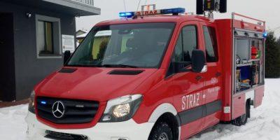 OSP Wąsosz-Łaziec ma nowy samochód bojowy