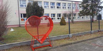 Serce na nakrętki w Rększowicach