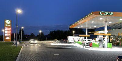 CRAB buduje stację paliw przy zjeździe z A1. Obok stanie McDonald's?